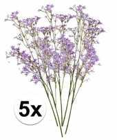 Goedkope paarse kroonkruid kunstbloemen tak 10105908