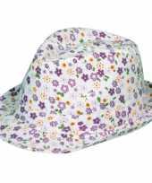 Goedkope paarse tribly hoed bloemen