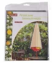 Goedkope parasolhoes grijs lifetime garden