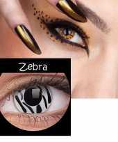 Goedkope party lenzen zebra goedkope
