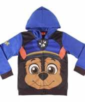 Goedkope paw patrol chase hooded sweatshirt