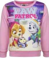 Goedkope paw patrol sweater roze