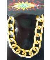 Goedkope pimp armband goud