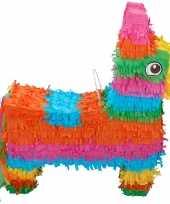Goedkope pinata gekleurde ezel 10138928