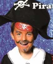 Goedkope piraat schminken schminkset