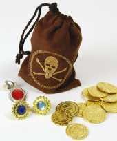 Goedkope piraten buidel sieraden geld