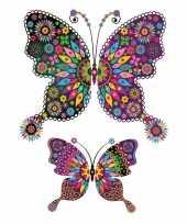 Goedkope plak tattoo vlinder stickers xxl