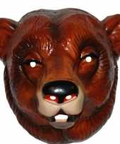 Goedkope plastic beren masker volwassenen