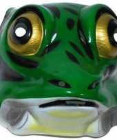 Goedkope plastic kikker masker volwassenen