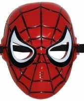 Goedkope plastic spinnenheld masker elastiek