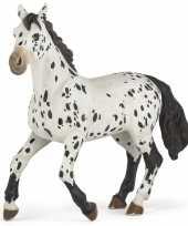 Goedkope plastic staand appaloosa paard