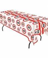Goedkope plastic verkeersborden tafelkleed jaar 10066286