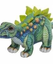 Goedkope pluche gekleurde stegosaurus dinosaurus knuffel speelgoed