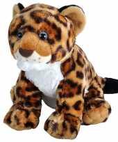 Goedkope pluche gevlekte luipaard jaguar welpje knuffel speelgoed