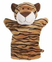 Goedkope pluche handpop tijger