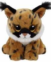 Goedkope pluche knuffel lynx ty beanie larry