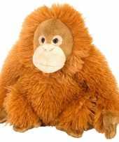 Goedkope pluche knuffel orang oetan oranje