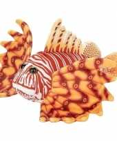 Goedkope pluche oranje koraalduivel vissen knuffel speelgoed