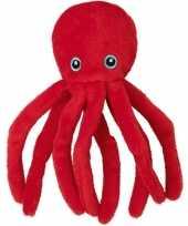 Goedkope pluche rode octopus inktvis knuffel speelgoed