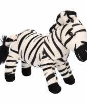 Goedkope pluche zebra knuffel
