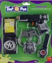Goedkope politie speelgoed set 10054476