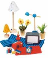 Goedkope poppenhuis accessoires woonkamer
