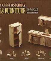 Goedkope poppenhuis meubels keuken