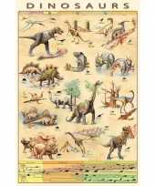 Goedkope poster dinosauriers