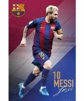 Goedkope poster lionel messi fc barcelona