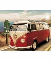 Goedkope poster volkswagen camper