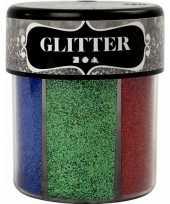 Goedkope potje glitters felle kleuren
