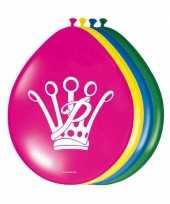 Goedkope prinsessia feest ballonnen stuks