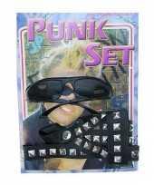 Goedkope punkers verkleed set