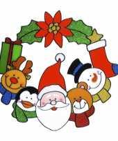 Goedkope raamsticker kerst