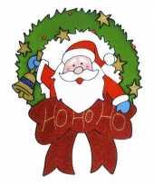 Goedkope raamsticker kerstman 10074191