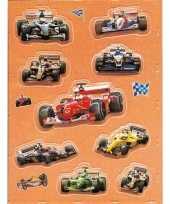 Goedkope racewagens d stickers vel