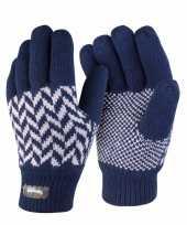 Goedkope result thinsulate handschoenen navy