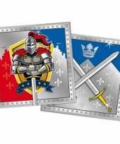 Goedkope ridder feest servetten