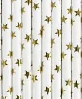Goedkope rietjes gouden sterren stuks