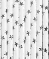 Goedkope rietjes zilveren sterren stuks