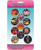 Goedkope rock and roll buttons stuks