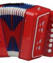 Goedkope rode accordeon kinderen