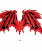 Goedkope rode duivel vleugels