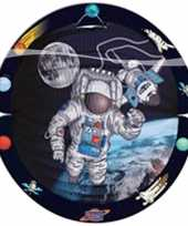 Goedkope ronde space lampion astronaut