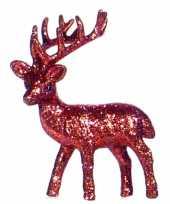 Goedkope rood deco rendier glitters