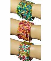 Goedkope roze blauwe kralen armbanden