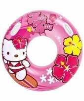 Goedkope roze hello kitty zwemband zwemring