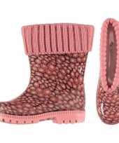 Goedkope roze kinder regenlaarzen voering 10116558