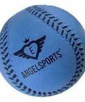 Goedkope rubberen honkbal blauw