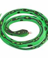 Goedkope rubberen speelgoed gras slangen